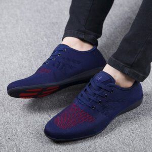 Red Blue Black Formal Summer Shoes for Men