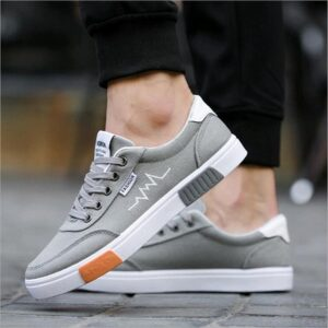 spring autumn canvas sneakers for men