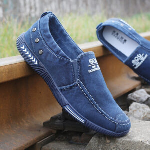 denim loafer shoes for men