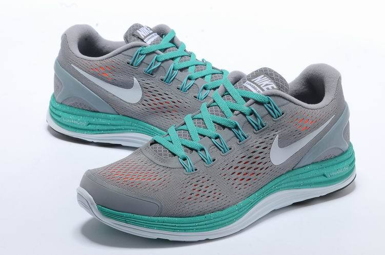grey-sports-shoes-with-light-green-laces
