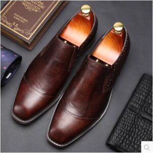 derby style party wear formal shoes for men