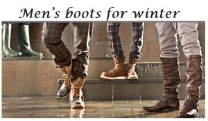 Different Types of Men's Winter Boots
