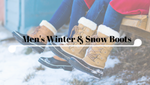 Mens Winter & Snow Boots – Hit Snow in Style!