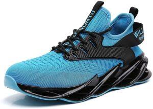 Athletic running shoes for men
