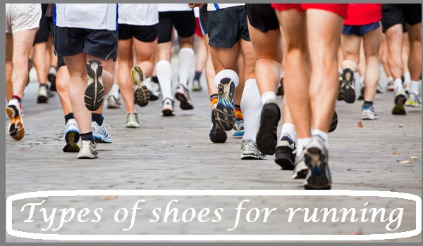 Types of shoes for running