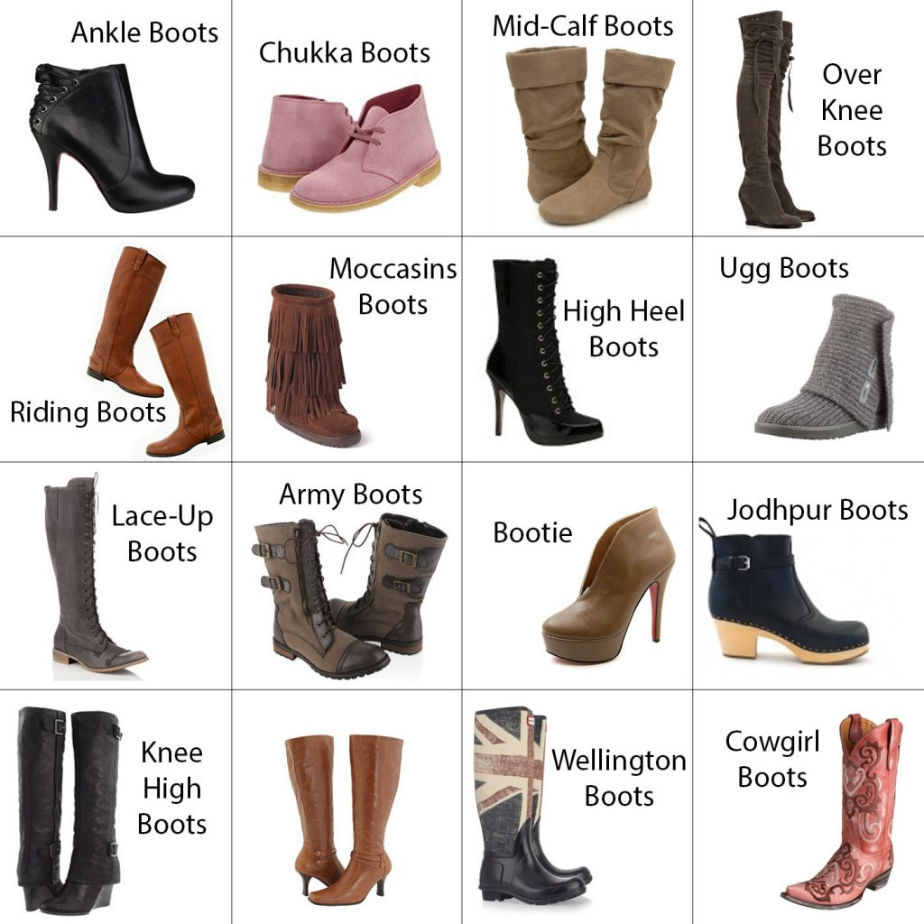 Types of Women Boots