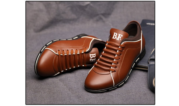 brown sneaker shoes for men