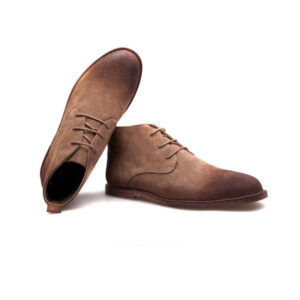 chelsea leather ankle length chukka boots for men