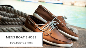 Different types of Mens Boat Shoes