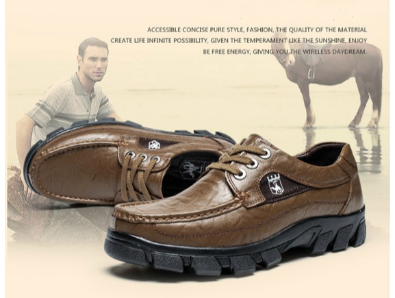 rough and tough brown shoes for men
