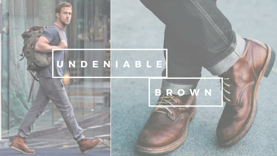 why choose brown shoes for men