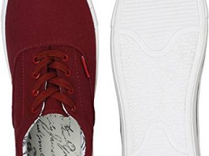 Party Wear Maroon Sneakers Shoes for Men
