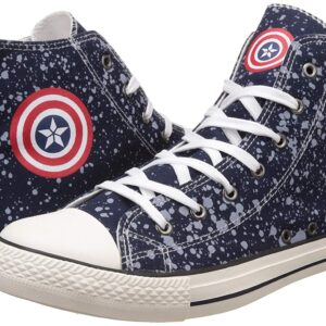 Captain America Men's Blue Sneakers