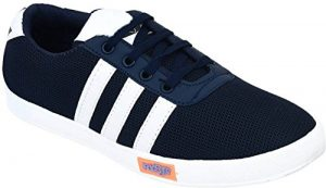 Navy blue casual sneaker