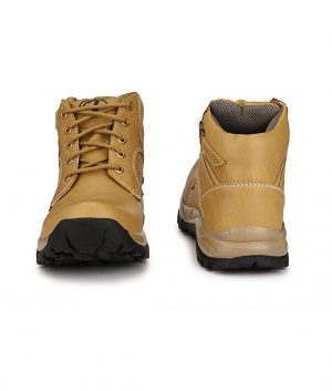 Tan Color Leather Boots for Men