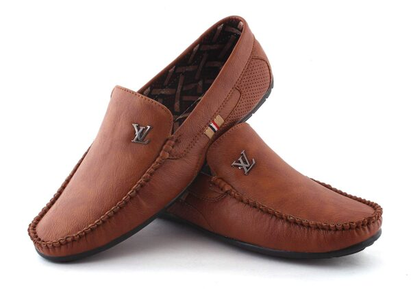 Men's Casual Brown Color Loafer Shoes
