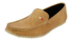 Men's Casual Beige Color Loafer Shoes
