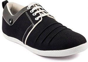Latest Black Colour Canvas Sneaker Shoes for Mens