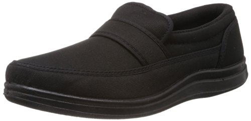 Gliders (From Liberty) Men\s Black Canvas Boat Shoes - 8 UK (3070005100420)